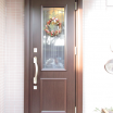 千葉県佐倉市 玄関リフォーム 寒冷地用ドア 防犯対策