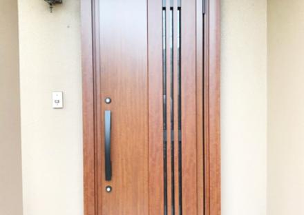 千葉県四街道市 玄関リフォーム 断熱仕様 採風タイプ
