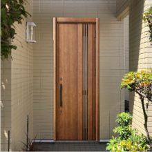 合成アプリで玄関をシュミレーションしました。