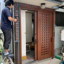 外壁や床を壊すことなく施工が可能です。